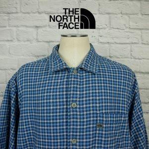 North Face A4 Button Front Shirt Sz L